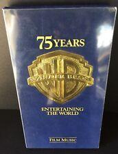 WARNER BROS. 75 YEARS FILM MUSIC 4-CD BOX SET! VERY RARE!!!