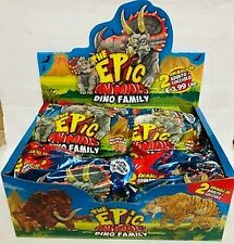 DISPLAY BOX DA 20 BUSTINE THE EPIC ANIMALS DINO FAMILY diramix