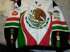 Very Rare Michel Jourdain Autographed NASCAR ROUCHE RACING MEXICO Jacket Coat 3X