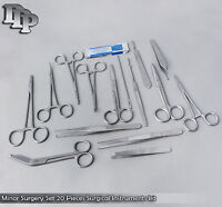 Minor Surgery Set 20 Pieces Surgical Instruments kit Stainless Steel DS-758