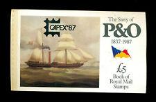 Great Britain - Mint Nh - Scott# Bk 151 Capex 87 - Scv$ 32.50