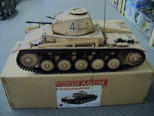 1/6 Scale Pz.Kpfw.II Ausf.C DAK Tank by Dragon pre painted , pre assembled