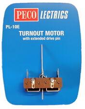 PECO LECTRICS PL10E TURNOUT MOTOR LONG SHAFT PEPL10E