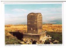 Postcard: Site of Pilgrim's Cross, Holcombe Memorial Stone, Bury, Lancashire