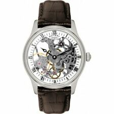Rotary Men's Silver Strap Wristwatches