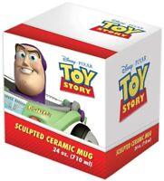 NEW Vandor Disney Pixar Toy Story Buzz Lightyear Boot 24 oz Sculpted Ceramic Mug