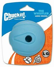 Chuckit! Dog Fetch Toy WHISTLER BALL Noisy Play Fits Launcher LARGE