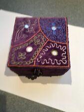 Pier 1 Purple Jewelry box