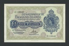 More details for falkland islands  qeii  £1  1974  p8b  uncirculated  banknotes