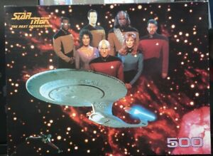 STAR TREK THE NEXT GENERATION...500 PIECE PUZZLE,,1995 MADE IN ENGLAND