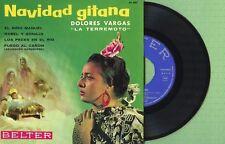 DOLORES VARGAS LA TERREMOTO Navidad Gitana BELTER 51.031 Press Spain 1963 EP EX