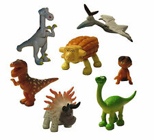 Good Dinosaur Alro Spot Playset 7 Figure Cake Topper * USA SELLER* Toy Doll Set