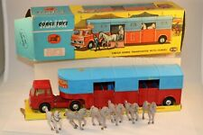 Corgi Toys 1130 Transporter for Circus Horses with Horses in near mint condition