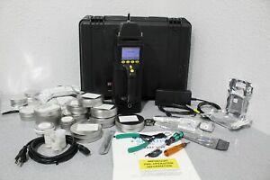 Smiths Sabre 4000 Hand-Held Narcotics Explosives Toxic Agent Detector Bundle
