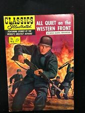 Classics Illustrated #95 All Quiet on the Western Front (Hrn 96) 1A 1952 Vf