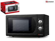 SQ Professional 20L 700W forno a microonde, nera-nuova con garanzia di 1 anni