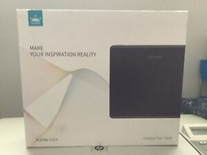 HUION HS64 Graphics Drawing Tablet Battery-Free Stylus 8192 Levels 266 PPS NEW