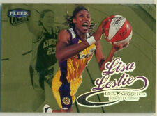 WNBA - WOMEN'S BASKETBALL CARD - 1999 FLEER ULTRA GOLD MEDALLION - LISA LESLIE