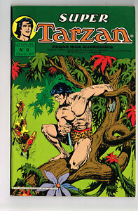 SUPER TARZAN #9 1979 NM OB FRENCH COMIC SAGEDITION NOT PRINTED IN U.S. COLOR