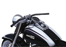 Lucas Manubrio Dragbar medio nero con ABE per Harley Davidson Street Bob