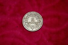 1950 French 5 franc coin aluminium