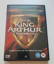 King Arthur Director's Cut - Region 2 - Good Condition - DVD - Tested