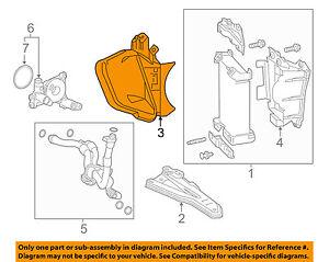 Lexus TOYOTA OEM 15-18 RC F 5.0L-V8 Engine Oil Cooler-Inlet Duct 1573138010