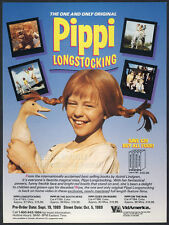 PIPPI LONGSTOCKING__Orig. 1989 Trade print AD promo__INGER NILSSON_Maria Persson