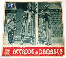 fotobusta originale ACCADDE A DAMASCO Paola Barbara Miguel Ligero 1943 #2
