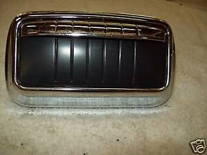 1953 Buick Back of Front Seat Ashtray; Nice Chrome Near NOS