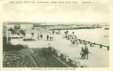 Wantgh,Long Island,NY. Jones Beach,Strolling the Boardwalk on Ocean Side of Bath