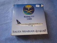 X037 SCHABAK BOEING B-777 SAUDI ARABIAN 1/500 828/31 EN BOITE