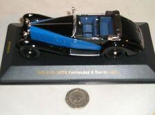 Voitures miniatures bleus IXO