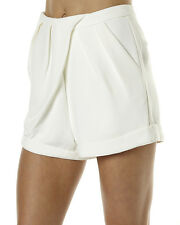 THE FIFTH LABEL WOMENS SHORTS– IVORY Size 10 Small