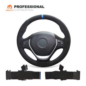 DIY Suede Steering Wheel Cover for BMW F22 F23 F45 F46 F30 F31 F34 F35 F32 F33