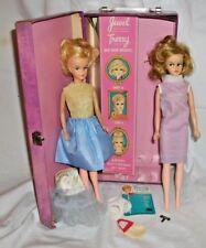 Vintage 1960's Tressy Dolls Lot w/ Case & Key