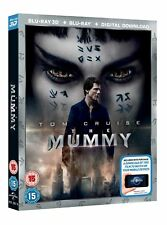 The Mummy (3D Edition with 2D Edition + Digital Download) [Blu-ray]