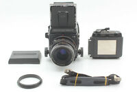 【Exc+5 w/ strap】 Mamiya RB67 Pro s + Sekor C 90mm f3.8 Lens Film back From JAPAN