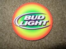 BUD LIGHT Rainbow Circle Logo budweiser STICKER decal craft beer brewing