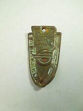 Vintage Göricke Werke Nippel Co Biel Efeld Bicycle Head Badge Emblem