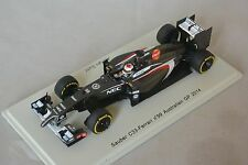 Spark S3076 - Sauber C33 2014 N°21 Australian GP 2014 Adrian Sutil F1 1/43
