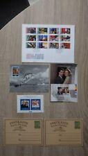 Lot LIECHTENSTEIN Bloc 14 (1992) 2x Postkarte Vaduz 87 2x FDC + 849 à 860 (1984)