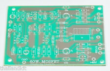 60W Mono MOSFET  Power  Amplifier Blank  PCB  DIY Circuit  Board J162 and K1058