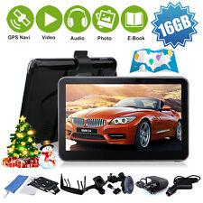 """5"""" KFZ GPS Auto PKW Navi  Navigationssystem Navigationsgerät 16GB  Geschenke"""