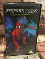 Spider-Man - The New Animated Series Double VHS Video Tape Retro Vintage TBLO