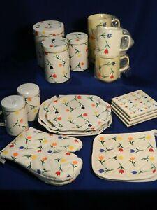 Vintage Tin Canister/ Kitchen Set