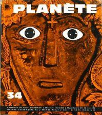 Planète n°34 - 1967 - Einstein - Pirî Reis Grèce Antique - Monaco Architecture