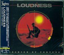 SOLDIER OF FORTUNE 2015 JAPAN CD by LOUDNESS - MIKE VESCERA - AKIRA TAKASAKI