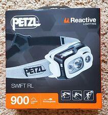 Petzl Swift RL 900 Headlamp - Black  *NEW*