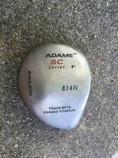ADAMS GOLF SC Series 814N FALDO 8° DRIVER RIGHT HANDED Titanium CLUB HEAD ONLY